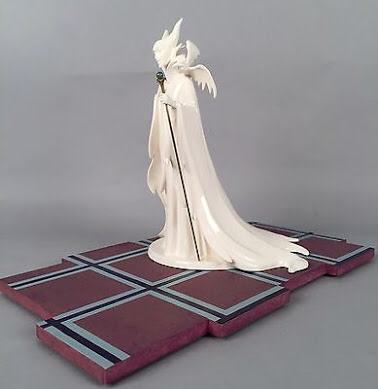 美品 wdcc眠れる森の美女 魔女マレフィセント Maleficent (Whiteware) Evil Enchantress 限定生産品 アンティーク ディズニーグッズの画像
