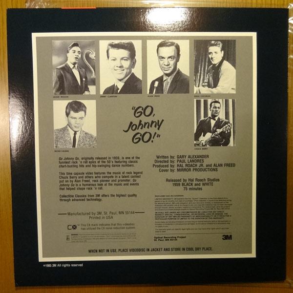 [LD] チャック・ベリー 「Go, Johnny Go!(ゴー・ジョニー・ゴー!)」  レーザーディスク  [輸入盤] _画像2