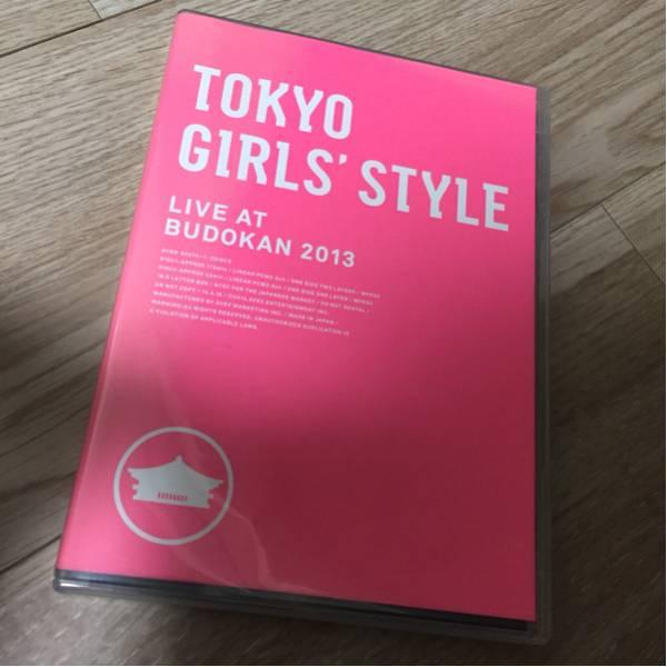 東京女子流 TOKYO GIRLS' STYLE (2枚組DVD) ライブグッズの画像