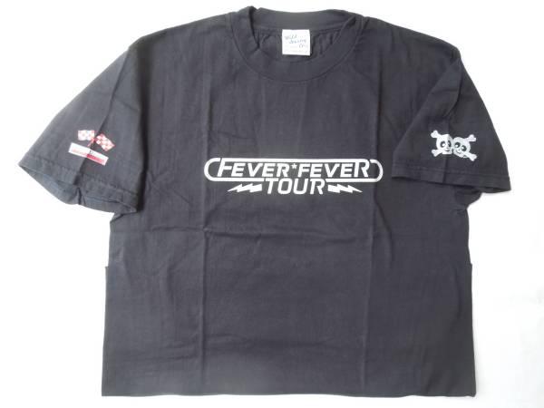 ★PUFFY(パフィー)FEVER FEVER TOUR '99 Tシャツ ダークネイビー★新品・未使用★ ライブグッズの画像