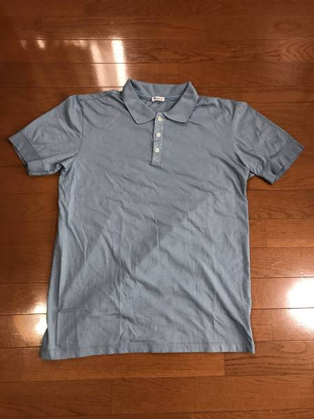 Schiesser Revival シーサーリバイバル PAUL POLO SHIRTS 1/2 ポロシャツ 無地 Mサイズ 未使用