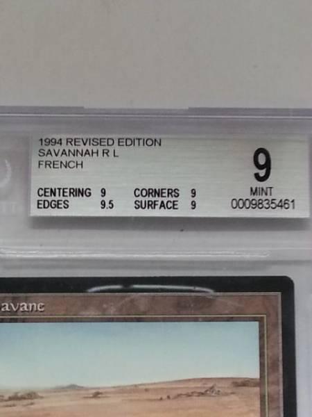 ●即決● RV Savannah(黒枠仏語 BGS9)_画像2