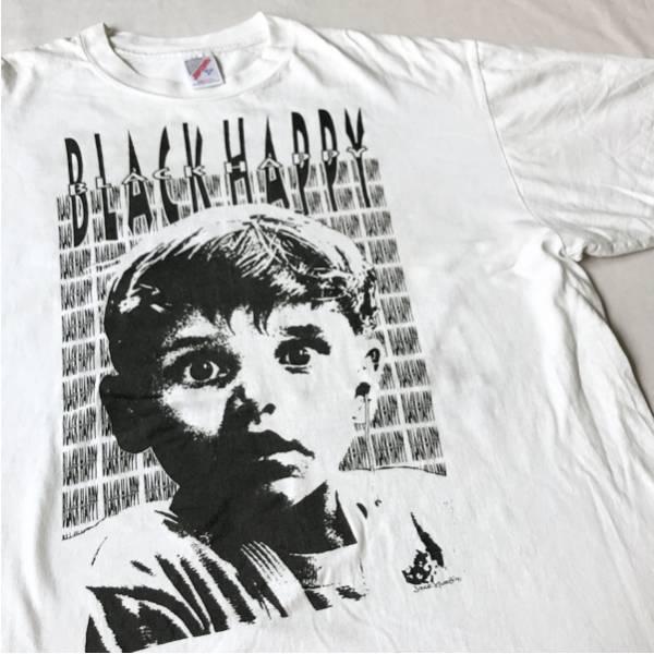 91年 BLACK HAPPY Tシャツ XL USA製 ビンテージ 90s 90年代 ブラックハッピー メタル バンド metallica メタリカ ライブグッズの画像