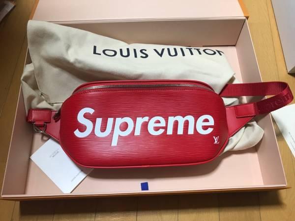 国内正規品 新品 SUPREME x LOUIS VUITTON bum bag ルイヴィトン シュプリーム バムバッ