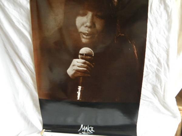 浅川マキ ポスター MAKI VI サイズ 840mm X 595mm