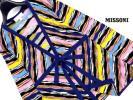 【美品】MISSONI/大きいサイズ48♪ サマーニット 透け感 カーディガン【クリーニング済み】イタリア製/ミッソーニ