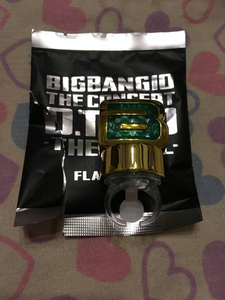 BIGBANG タプ フラッシュリング 新品未使用 0TO10 グッズ トップ たぷ TOP ビッグバン