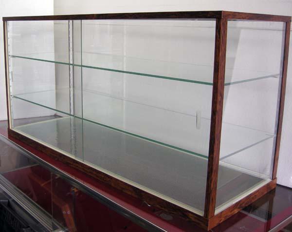 木製風ガラスショーケースW90cm レトロ・アンティーク調 コレクションケースとしても 都内23区送料1,000円_画像3