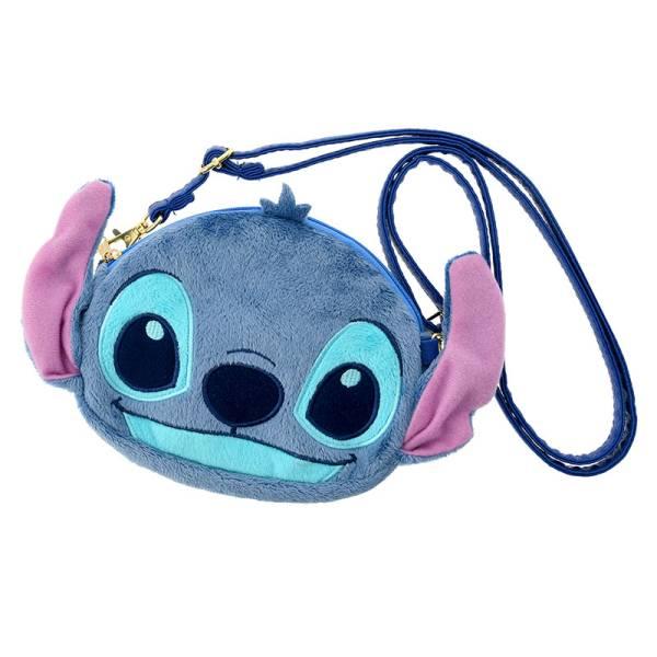 スマポシェ ぬいぐるみ風 スティッチ Lilo&Stitch 15th Anniversary ディズニーグッズの画像