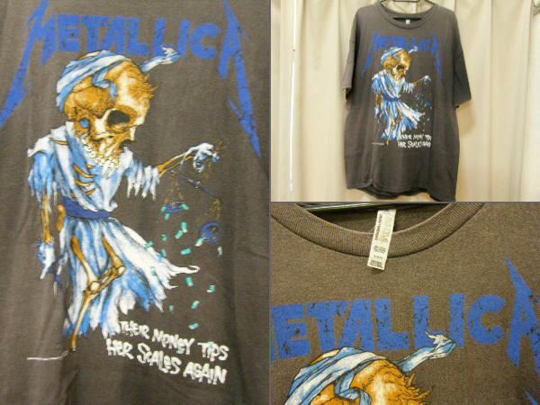 METALLICA メタリカ PUSHEAD パスヘッド Tシャツ バンドTシャツ FEAR OF GOD SUPREME 古着 ライブグッズの画像