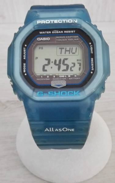 動作良好♪ 電波ソーラー CASIO × I.C.E.R.C カシオ G-SHOCK GW-5600KJ 第5回イルクジ モデル ブルー 2005年モデル