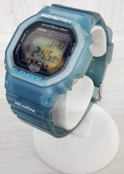 動作良好♪ 電波ソーラー CASIO × I.C.E.R.C カシオ G-SHOCK GW-5600KJ 第5回イルクジ モデル ブルー 2005年モデル_画像2