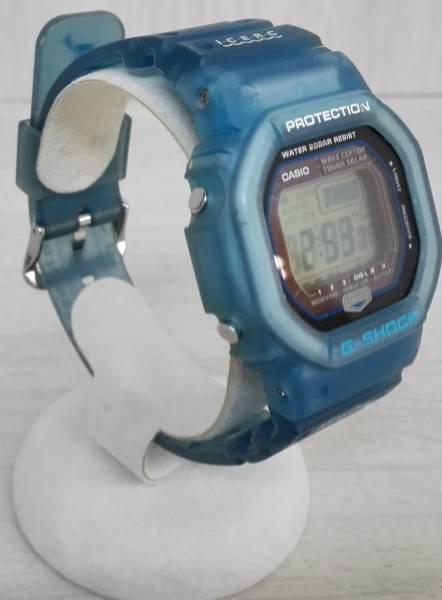 動作良好♪ 電波ソーラー CASIO × I.C.E.R.C カシオ G-SHOCK GW-5600KJ 第5回イルクジ モデル ブルー 2005年モデル_画像3