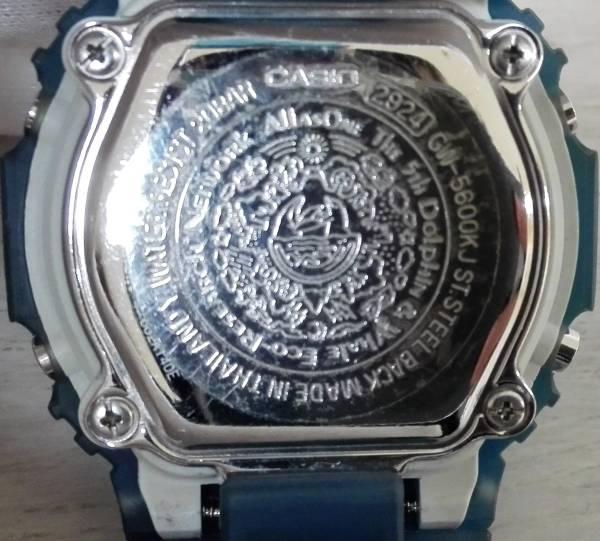動作良好♪ 電波ソーラー CASIO × I.C.E.R.C カシオ G-SHOCK GW-5600KJ 第5回イルクジ モデル ブルー 2005年モデル_画像6