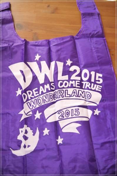 新品 送料120円 未使用 DREAMS COME TRUE ドリカム エコバッグ バッグ パープル ワンダーランド ショッピングバッグ