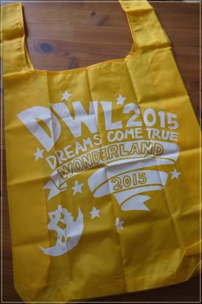 新品 送料120円 未使用 DREAMS COME TRUE ドリカム エコバッグ バッグ パープル ワンダーランド ショッピングバッグ イエロー