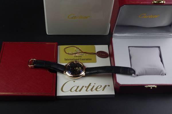 カルティエ (Cartier)バロンブルー ドゥ 時計_画像3