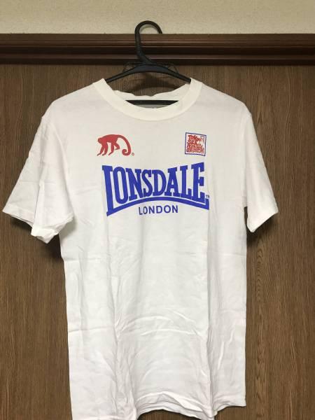 スカパラ LONSDALEコラボTシャツ Sサイズ 中古品 ホワイト 貴重