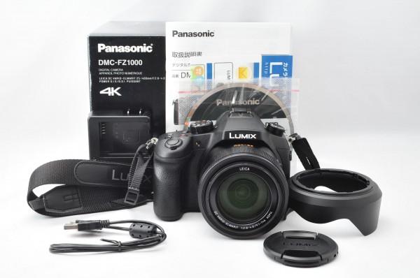 ★驚異の新品級★ Panasonic パナソニック LUMIX ルミックス DMC-FZ1000 4K 嬉しい元箱付き!! 新品に近い状態で非常にオススメです!!