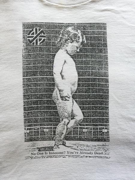CRASS Tシャツ ビンテージ パンク ハードコア UK gism conflict discharge アナーコ 80s グッズの画像