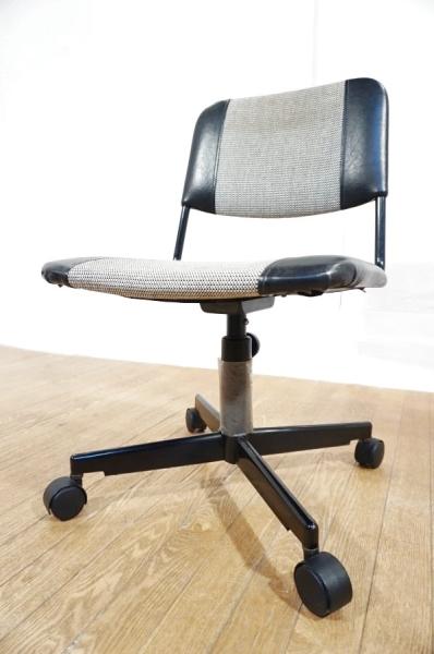 【 送料無料 】 ヴィンテージ 昇降 回転 キャスターチェア デスクチェア 学習椅子 作業イス / 北欧 アクタス IDEE カリモク 天童木工 無印