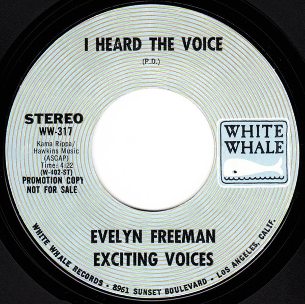 Evelyn Freeman Exciting Voices I Heard The Voice Gospel Soul_画像2