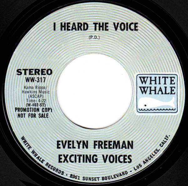 Evelyn Freeman Exciting Voices I Heard The Voice Gospel Soul_画像1
