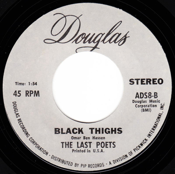 The Last Poets - O.D. Funk Rap Soul 45 Douglas Grey Lbl 試聴_画像2