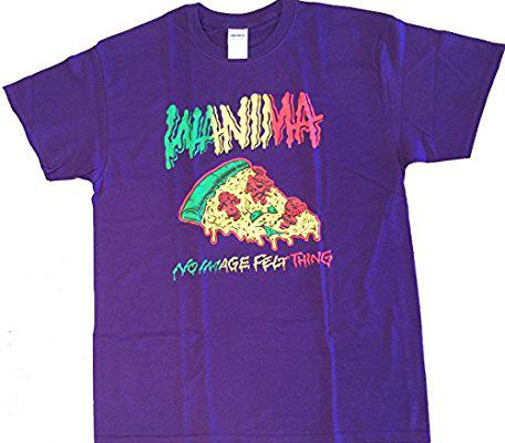【新品・未使用品】WANIMA ワニマ Tシャツ ピザ 紫 XL ライブグッズの画像