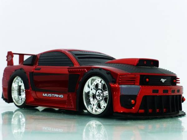 BATTLE MACHINES■JADA 1/24 2006 FORD MUSTANG GT RED■マスタング PP_画像1