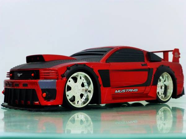 BATTLE MACHINES■JADA 1/24 2006 FORD MUSTANG GT RED■マスタング PP_画像3