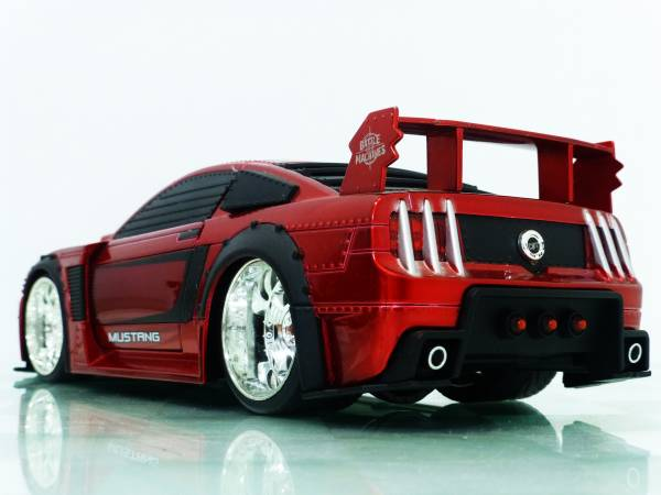 BATTLE MACHINES■JADA 1/24 2006 FORD MUSTANG GT RED■マスタング PP_画像2