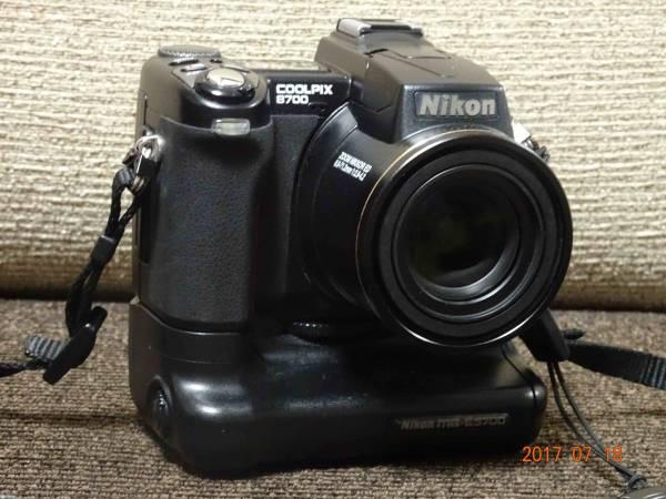 NIKON COOLPIX8700 MB-E5700 おまけとしてCASIO EX-Z750