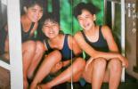 ♪少女隊切り抜き53枚+ピンナップ!安原麗子藍田美豊引田智子市川三恵子菊池桃子