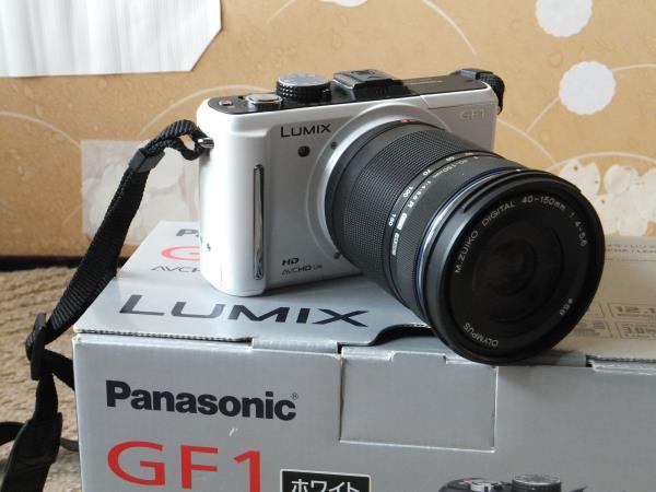 パナソニック LUMIX DMC-GF1 ミラーレス デジタル一眼 レンズ付き