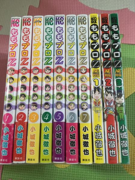 ももプロZ AE列伝 コミック 全10巻セット 7+3冊 ももクロ マンガ化 ももいろクローバーZ