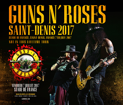 GUNS N' ROSES - SAINT-DENIS 2017 (3CDR)