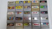 ・SFC スーパーファミコン 処分品 まとめて ドンキーコング、ぷよぷよ 等 65本程 中身未チェック 1