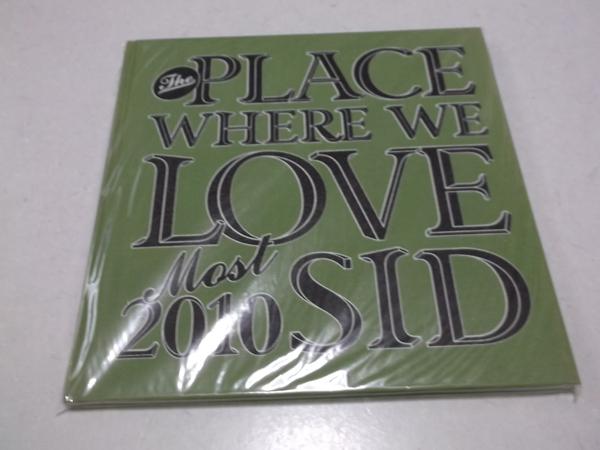 ▽ SID シド 【 2010ツアーパンフ THE PLACE WHERE WE LOVE MOST♪美品 】 マオ 明希 Shinji ゆうや