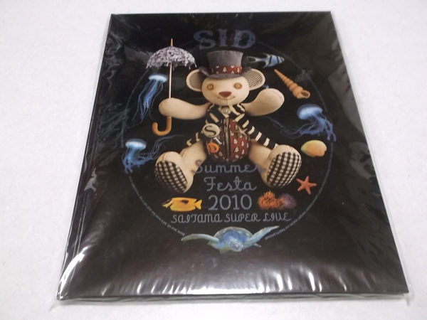 ▽ SID シド 【 Summer Festa 2010 パンフ ♪美品 】 マオ 明希 Shinji ゆうや