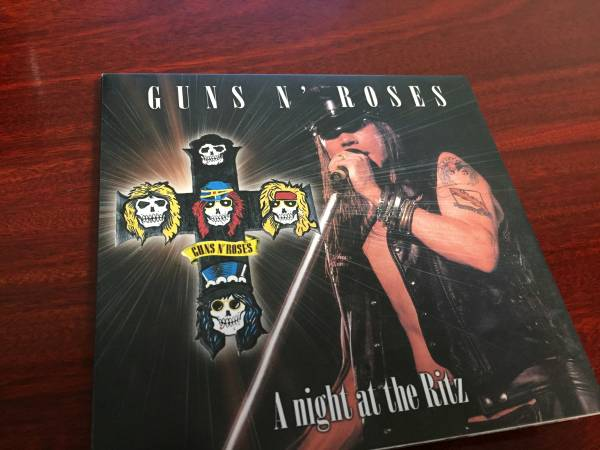 Guns N' Roses ガンズアンドローゼズ A Night At The Ritz