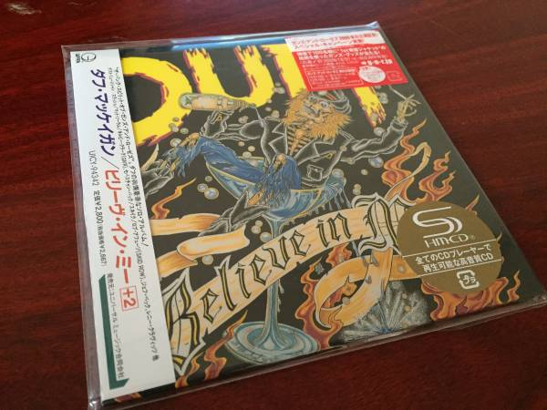 Duff McKagan Believe In Me [Shm-Cd] [Limited Release] (Japanese Edition)