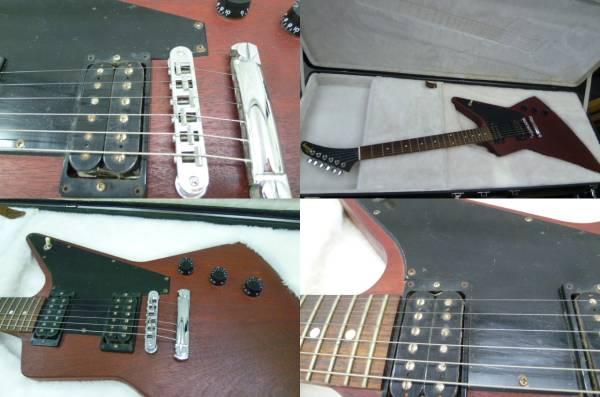 楽器祭 音楽やろーじぇ~ ギブソン エクスプローラー Gibson USA Explorer 旧型 シャーベルヘッド 美品 今がチャンスでーす