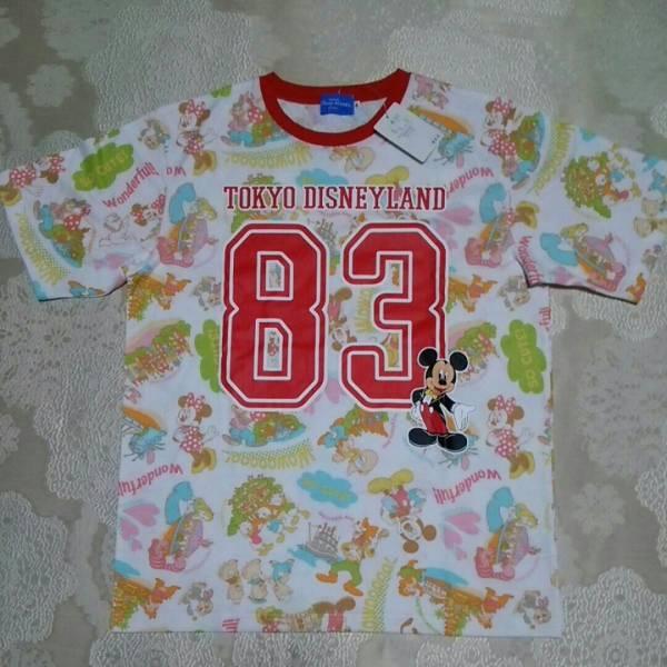 東京ディズニーリゾート購入●東京ディズニーランド83TシャツLサイズ●ミッキー ディズニーグッズの画像