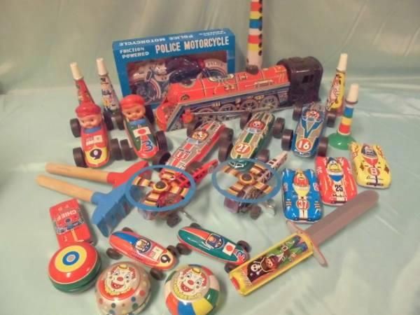 1 当時物 昭和ブリキおもちゃセット 大量 まとめて 日本製