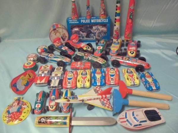 当時物 昭和のおもちゃ 大量ブリキセット まとめて 日本製