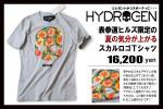 1.6万ハイドロゲン HYDROGEN 表参道ヒルズ限定モデル!トロピカルスカルが夏の気分が盛り上がるTシャツ クルーネック カットソー HAWAII