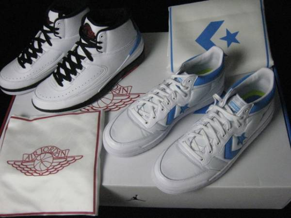 125f27e7ff85 Jordan x Converse Pack (Nike NIKE Air Jordan 2 Air Jordan 2 Converse fast  break