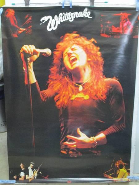 w89【Whitesnake/ホワイトスネイク】LP予約特典A1サイズポスター