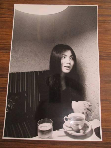 e121【生写真】山崎ハコ⑤/雑誌・グラビア撮影用
